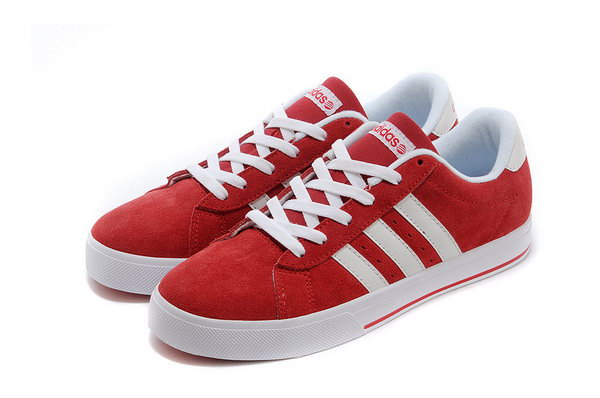 Adidas Neo Suede Mens & Womens (unisex) Red White Discount Code